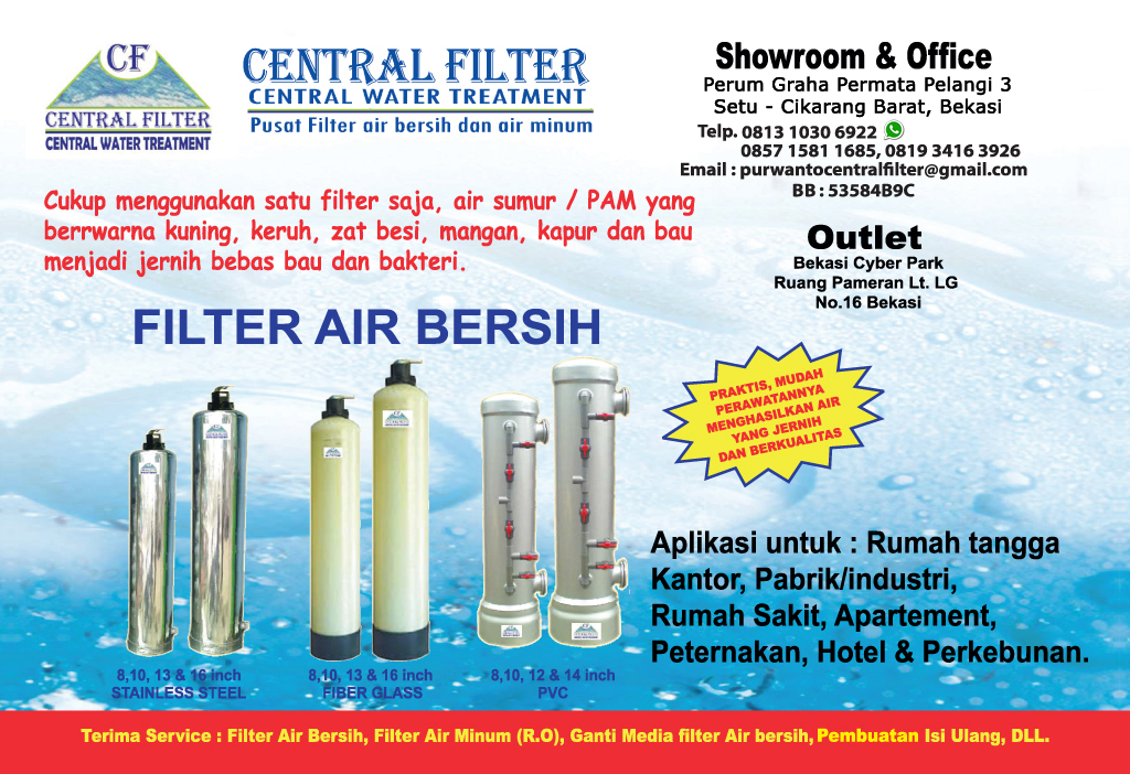 Brosur Tabung Filter Air - Central Filter